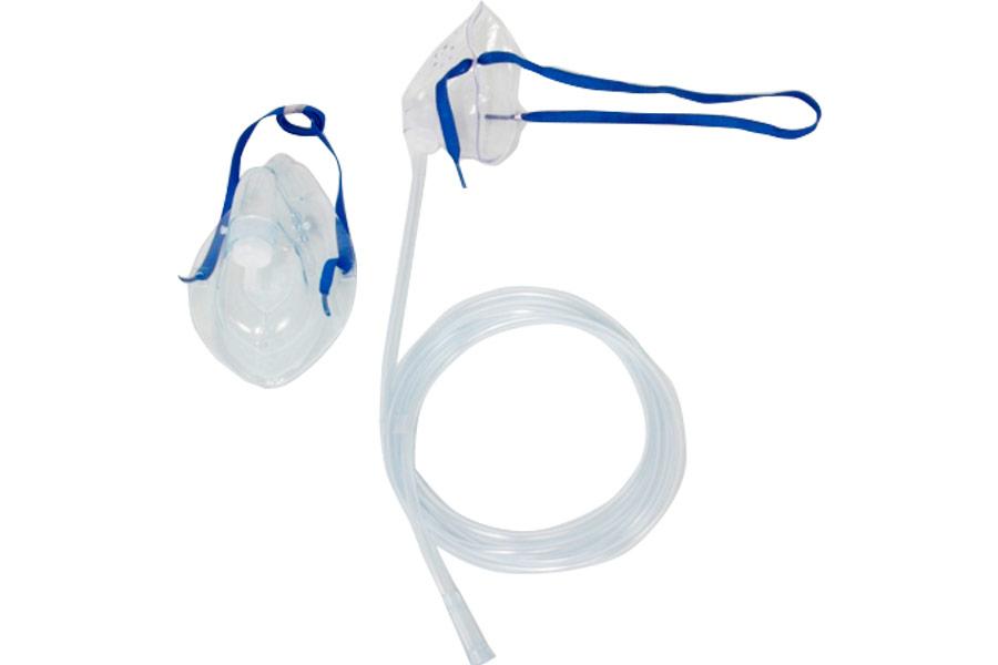 Máscara de oxígeno con extensión – Terapia Respiratoria – Bioplast S.A.