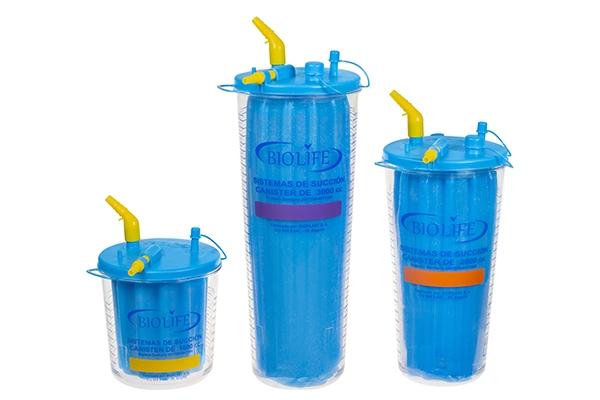 Sistema de succión Liner – Medicina General – Bioplast S.A.